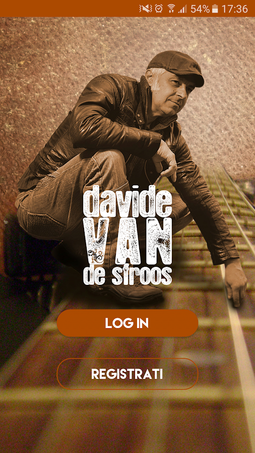 Davide Van De Sfroos- screenshot