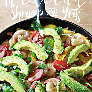 Mexican Shrimp and Grits.