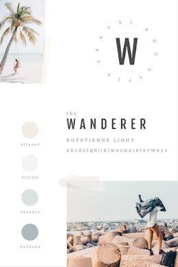 The Wanderer Brand Board - Brand Board item