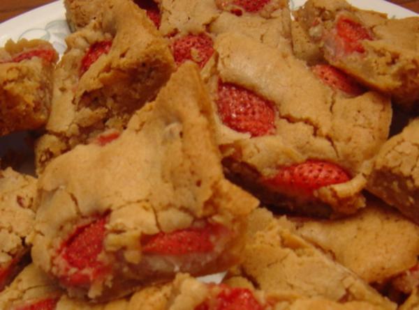 Strawberry Blondies Recipe