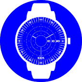 3D Blueprint Watch Face