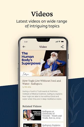 Sadhguru - Yoga, Meditation & Spirituality 5.0 screenshots 6