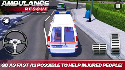 Download Ambulance Rescue Driving MOD APK 1