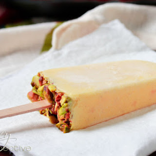 Mango Lassi Homemade Popsicles