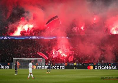 Les supporters du PSG soutiendront leur club ... depuis l'extérieur du stade