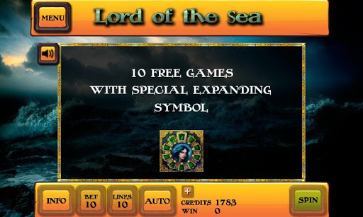 Lord of the Sea Slot - screenshot