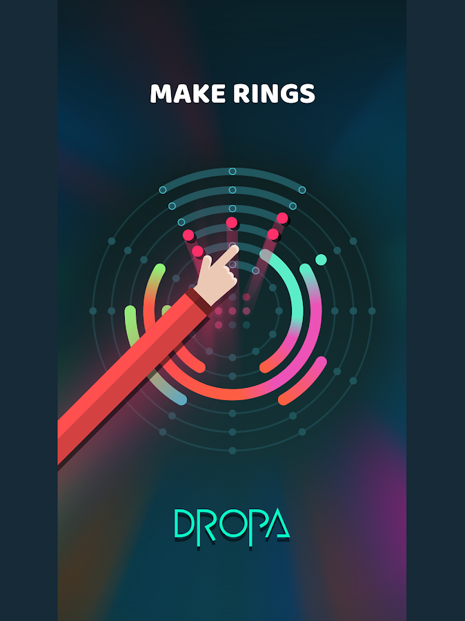 Dropa- screenshot