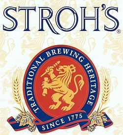 Logo of Stroh's American Lager