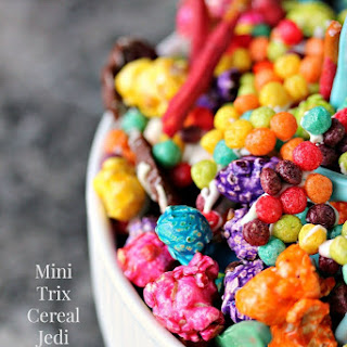 Mini Trix Cereal Jedi Snack Mix with Lightsaber Pretzels