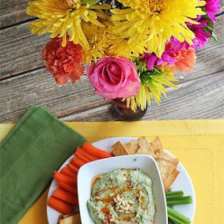 White Bean, Roasted Garlic & Kale Hummus