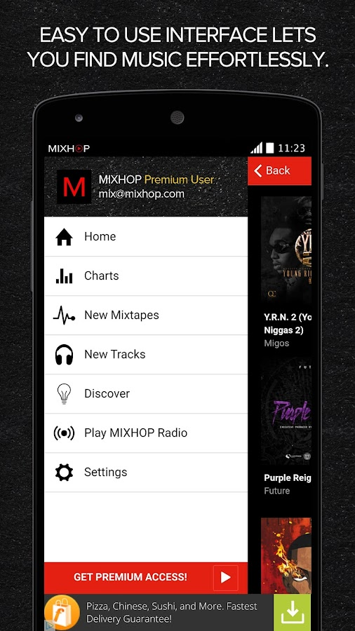 MIXHOP Mixtapes & Music- screenshot