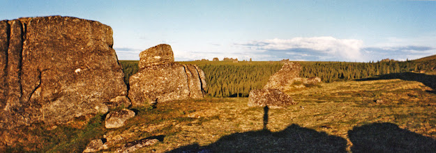 Photo: Chena Hot Springs Granite Tors
