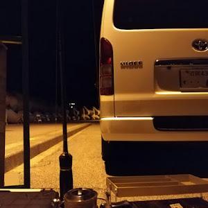 ハイエースバン GDH206V S-GL 3000D 4WDのカスタム事例画像 jikomokkoさんの2018年11月13日22:17の投稿