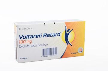 Voltaren Retard 100Mg   Grageas Caja x10Grg. Novartis Diclofenaco Sódico