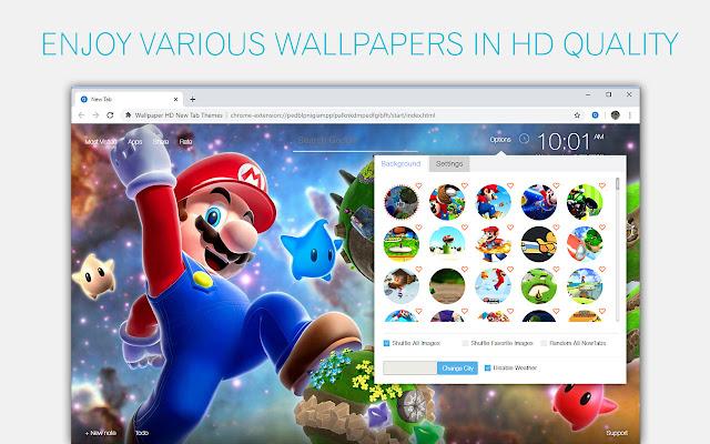 wallpapers mario bros background
