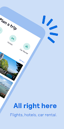 Skyscanner – cheap flights, hotels and car rental APK screenshot thumbnail 2