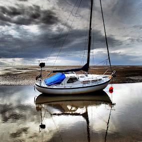 Ebb tide  by Pat Regan - Transportation Boats ( boats, yachts,  )