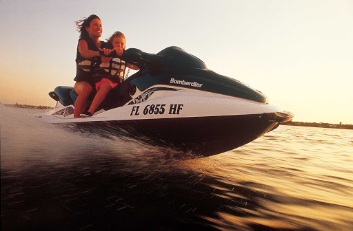 Take a recreational watercraft out for a spin in Florida.
