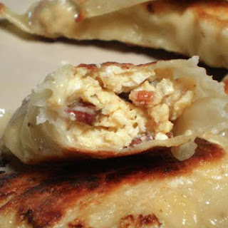 Breakfast Potstickers