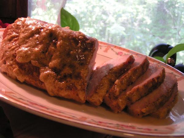 Pork Tenderloin With Horseradish Mustard Sauce Recipe
