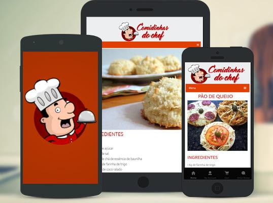 Comidinhas do Chef- screenshot