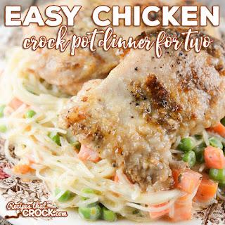 Easy Chicken Crock Pot Dinner for Two.