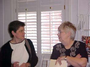 Photo: Kathy McDowell, Seminary Student (Atlanta First) and Zena McAdams