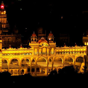 The Palace of Mysore by Nelson Moses - Buildings & Architecture Public & Historical
