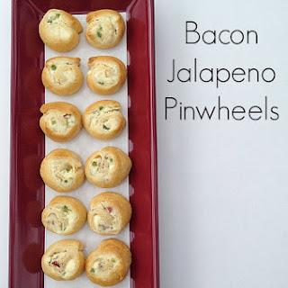 Bacon Jalapeño Pinwheels