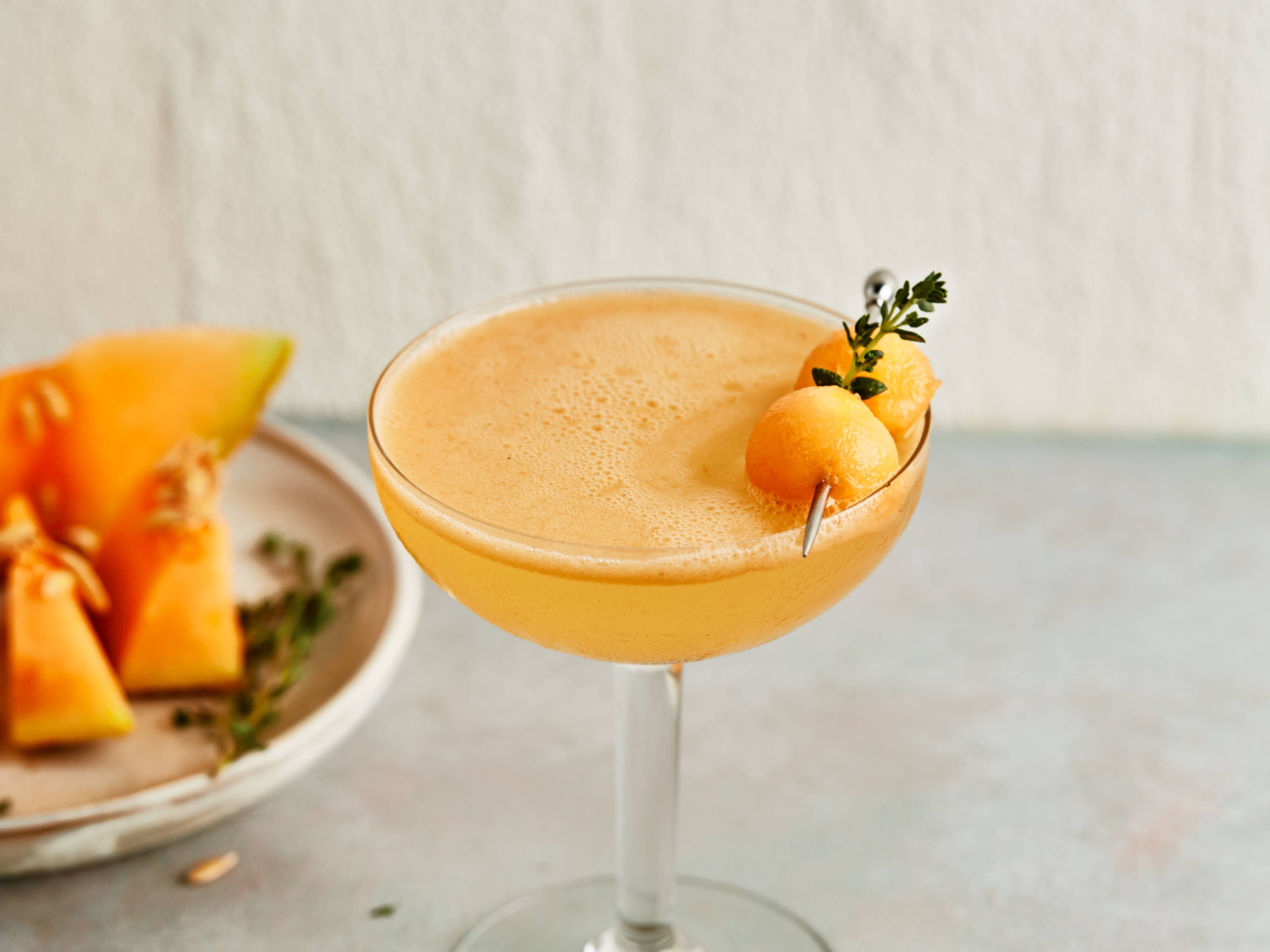 10 Best Cantaloupe Drink Alcohol Recipes Yummly Thin shreds of cantaloupe are combined with water and sweetened to taste. cantaloupe coastal breeze cocktail