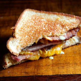 Honey Mustard & Ham Grilled Cheese.