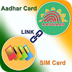 Online Aadhar Card Link to SIM Icon