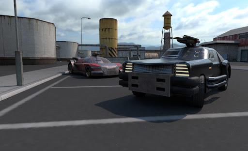 Crossroads PvP: Badass online car shooter screenshot 1
