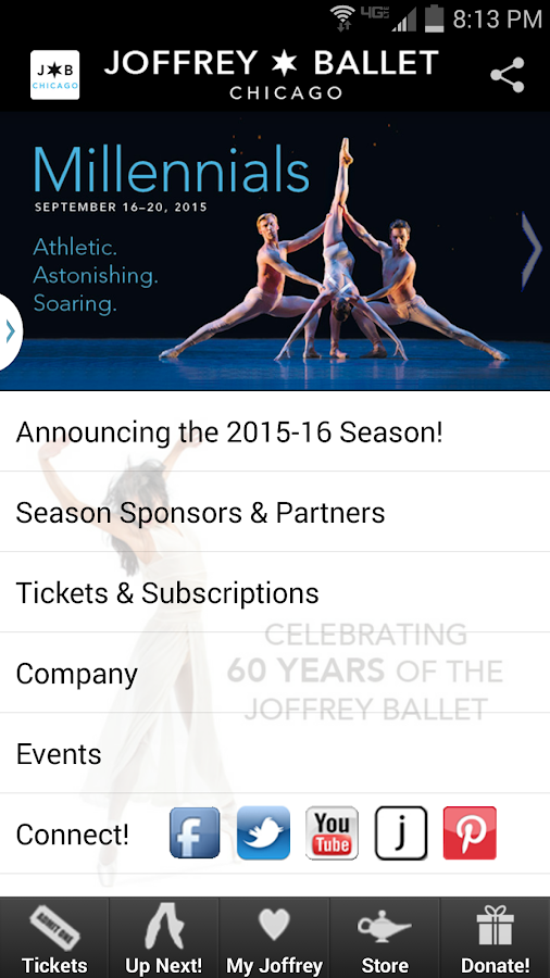 The Joffrey Ballet - screenshot