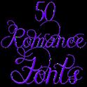 Fonts for FlipFont Romance icon