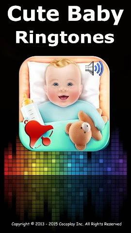 android Cute baby ringtones Screenshot 0