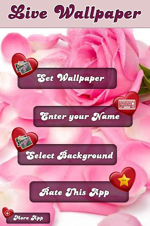 My Love Name Live Wallpaper 16 Screenshot 258645