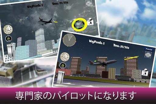 航空機フライトシミュレータの Airplane Flight