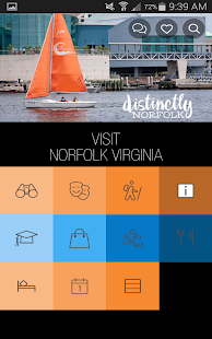 VisitNorfolkVA- screenshot thumbnail