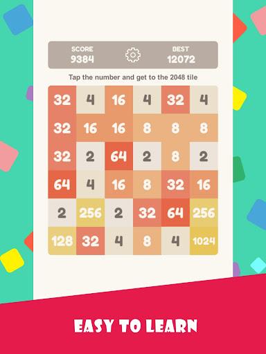 Tap 2048 - worldwide poplar game apkdebit screenshots 6