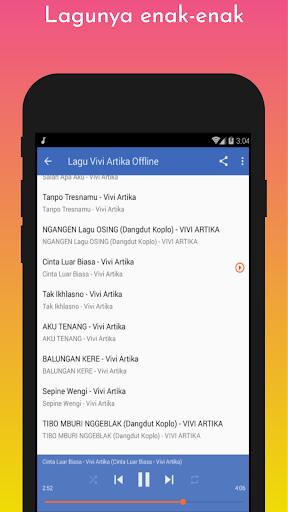 Lagu Vivi Artika Offline screenshot 5