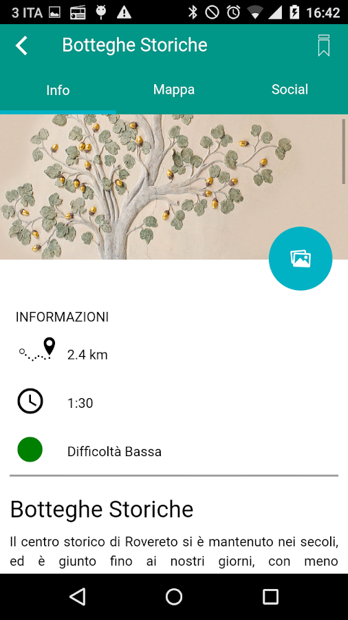 Rovereto Percorsi- screenshot