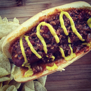 Bacon Chili Cheese Dog
