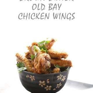 Brown Butter Old Bay Wings
