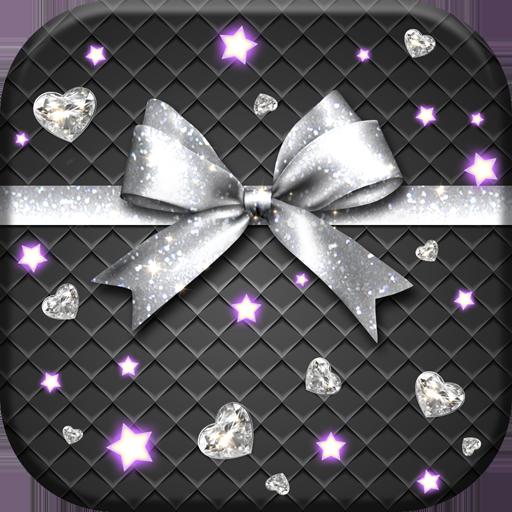 Silver Bow Wallpaper HD Live