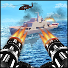 Navy War Shoot 3D - Gunner Warfare Shooter icon