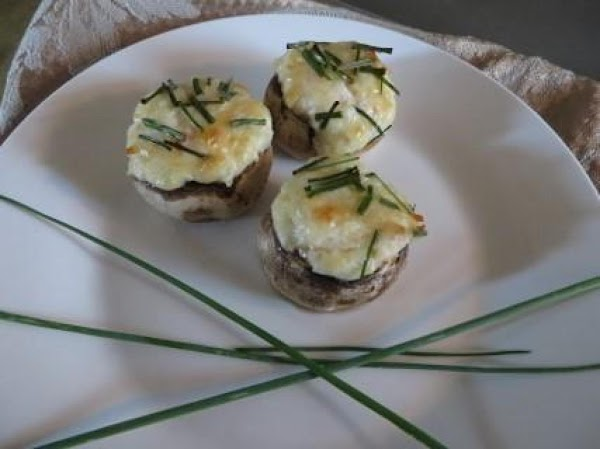 Quick And Easy Crab Stuffed Mushrooms Appetizer Recipe