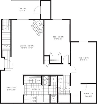 Go to The Meadowlark Floorplan page.