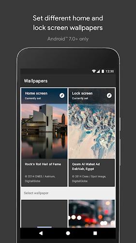 Wallpapers Android App Screenshot