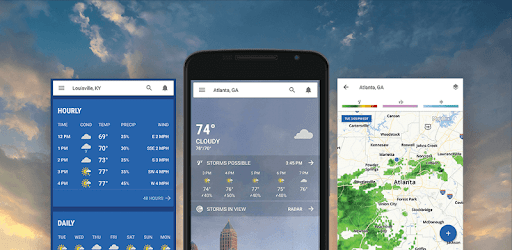 The Weather Channel app (apk) free download for Android/PC/Windows screenshot